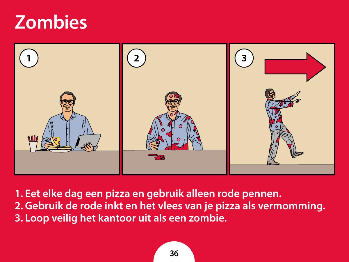 De zombies nemen je kantoor over. Wij vertellen wat je moet doen om levend te ontsnappen.