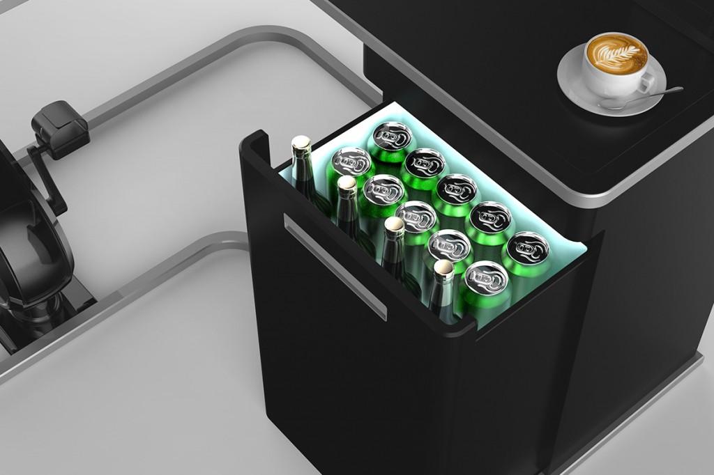 Coolbox feature van het omnibureau van Viking