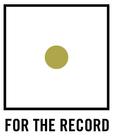 Logo For the Record