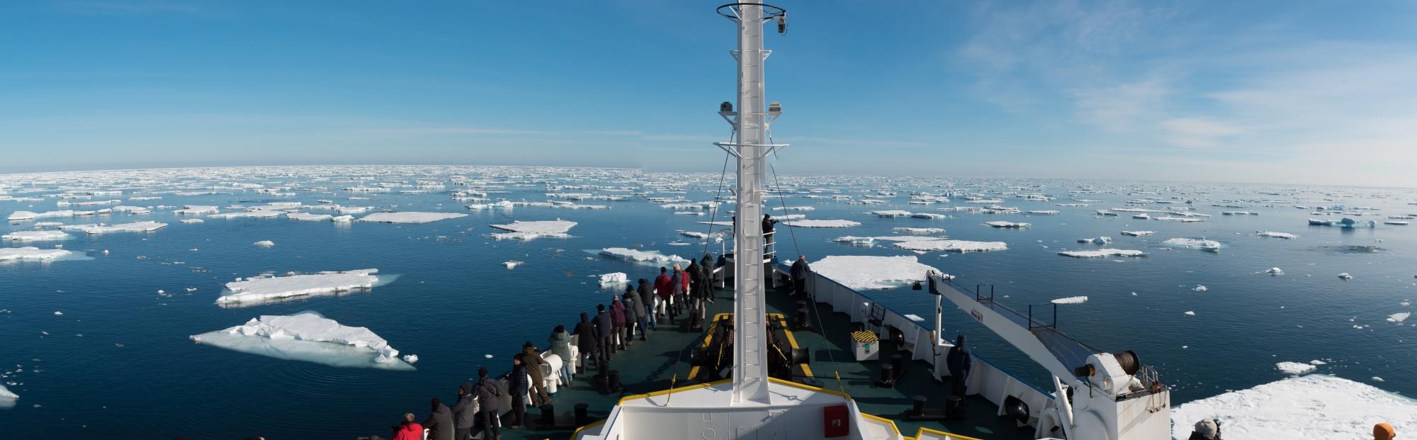 Panorama Spitsbergen - Foto's Inezia Tours voor Viking