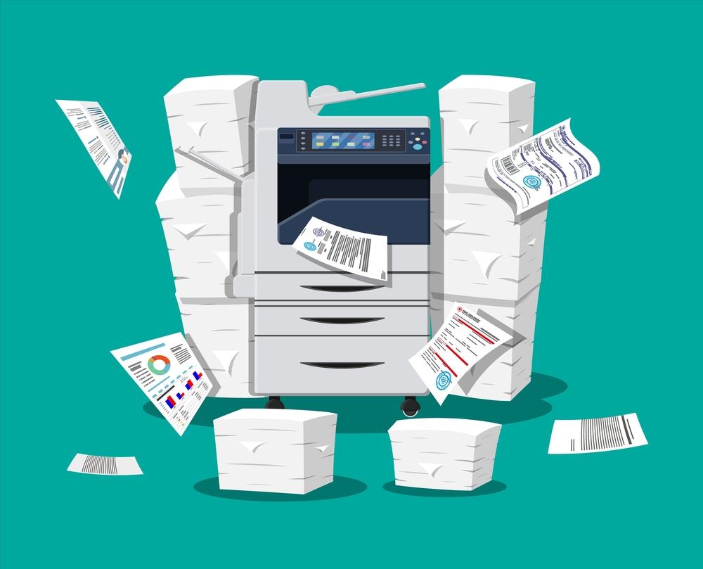 Printer spuugt papier uit